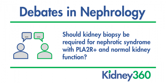 Browse our collection of Debates in Nephrology