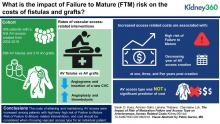 The Impact of Risk of Maturation Failure and Access Type on Arteriovenous Access Related Costs